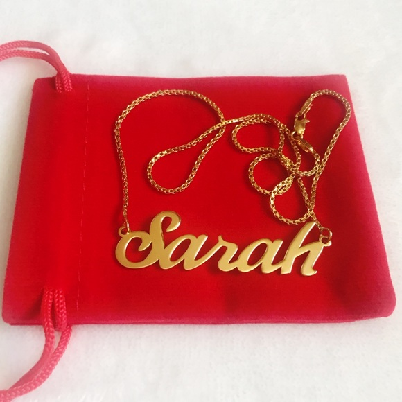 Jewelry - 18k Solid Gold Sarah Necklace